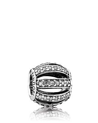 PANDORA Charm - Sterling Silver  Cubic Zirconia Leading Lady | Bloomingdale's