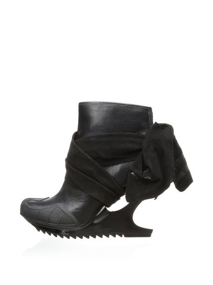 6ab7d3cfe0f4 adidas Y-3 by Yohji Yamamoto Women s Nomad Wedge Ankle Boot at MYHABIT
