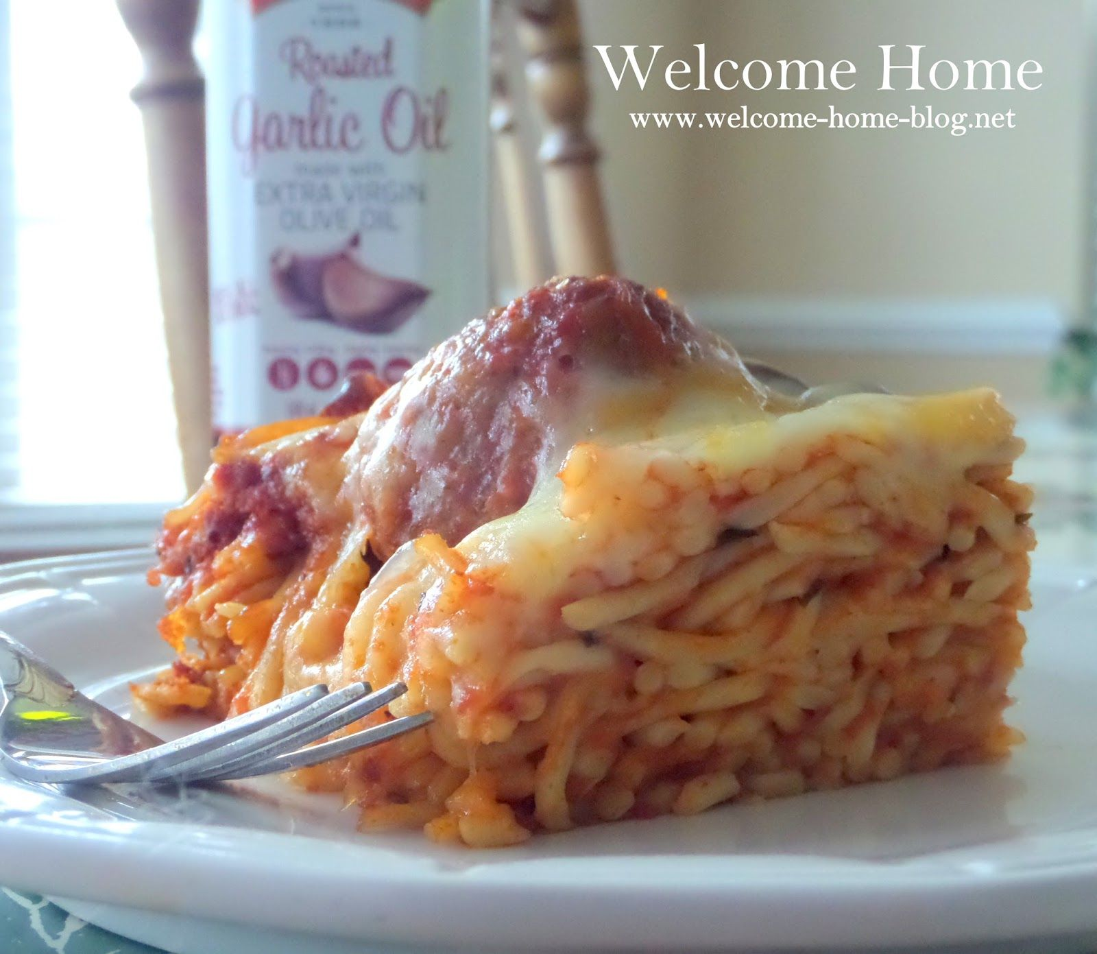 welcome home blog baked spaghetti and meatballs awesome recipies
