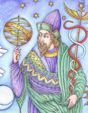 Image result for hermes trismegistus caduceus