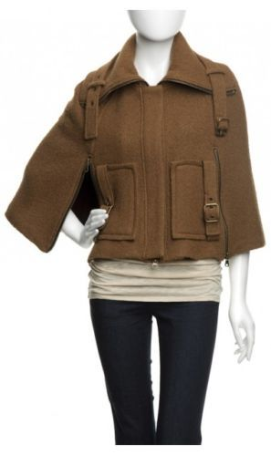 Nanette Lepore Womens Get A Clue Cape Size Large   eBay