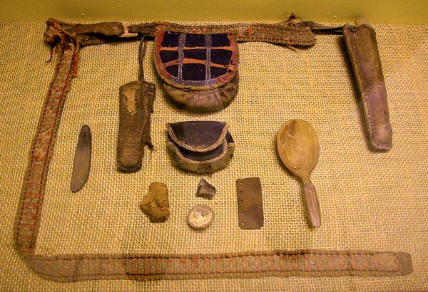 Saami Belt And Equipment Self Stuff Bushcraft
