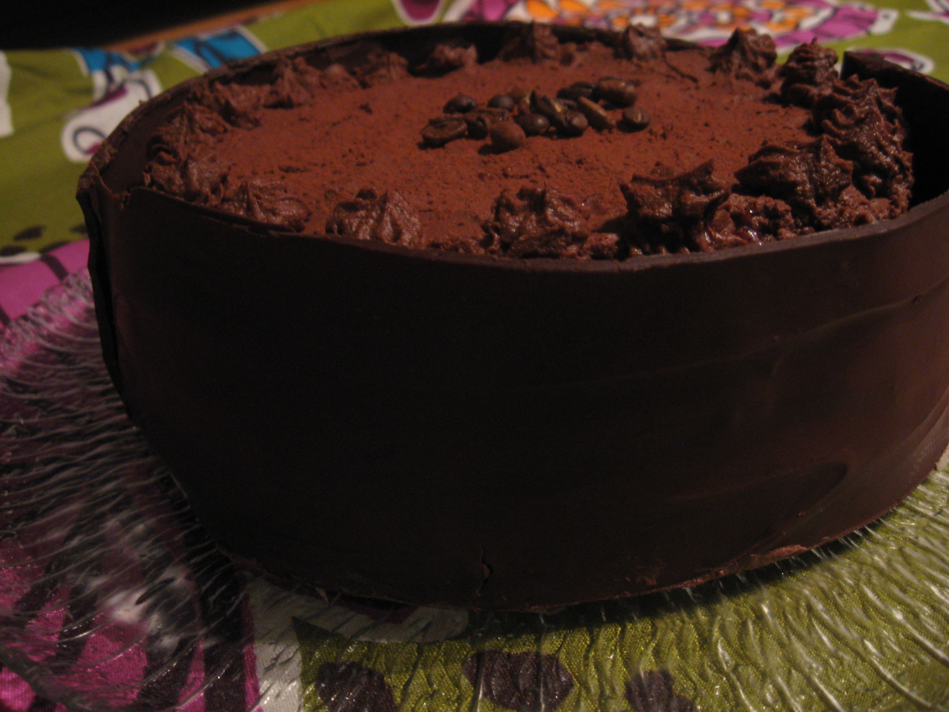 Mokkasuklaakakku suklaavuoassa