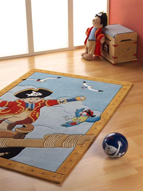 Kinder Teppich Capt'n Sharky