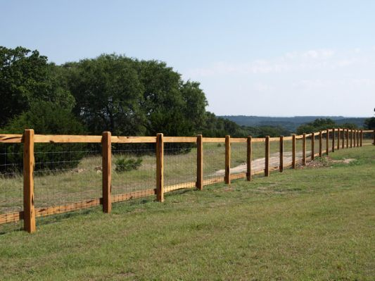 Ranch Style Wood Fence Designs Fence Design Wood Fence Design