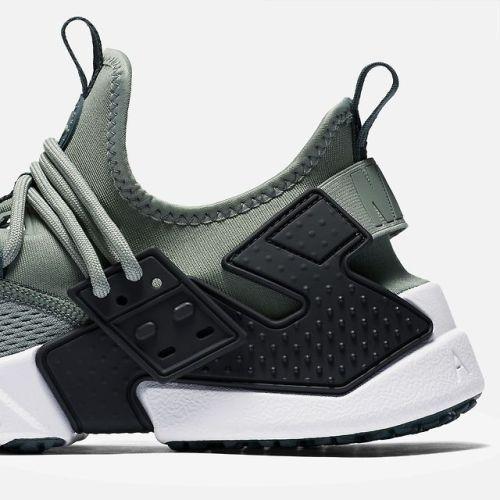 Nike / Air Huarache Drift Breathe / Clay Green/Black/White/Deep ...