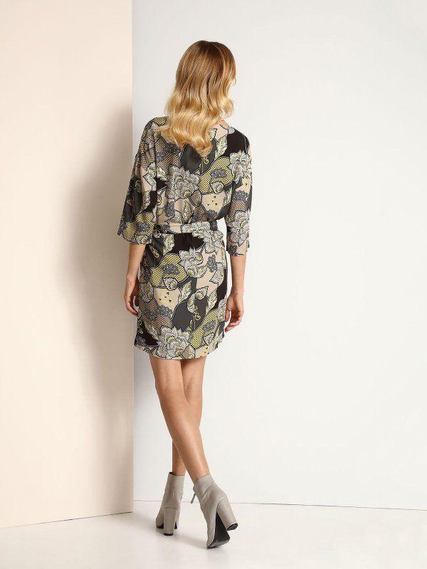 Pin By Top Secret On Printy Wzory Nadruki Kwiaty I Zygzaki Fashion Dresses Sweater Dress