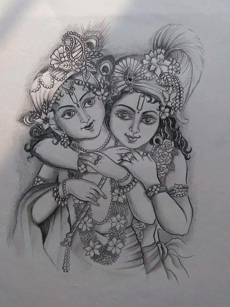 Pin By Isha On Krishna Leela In 2020 Indian Art Paintings Krishna Painting Radha Krishna Art