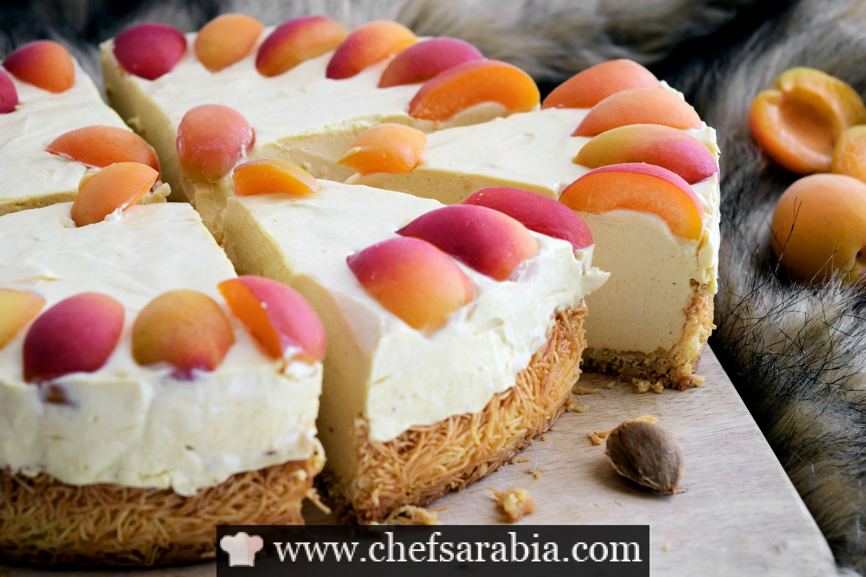 قمر الدين تشيز كيك بالكنافة Desserts Cheesecake Mini Cheesecake