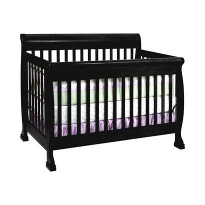 Best Black Crib Color Davinci Kalani 4 In 1 Convertible Crib 400 x 300