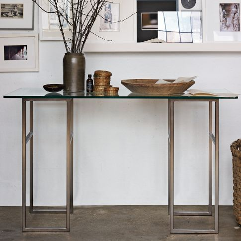 West Elm: High-Rise Table Convertible into a coffee table ...