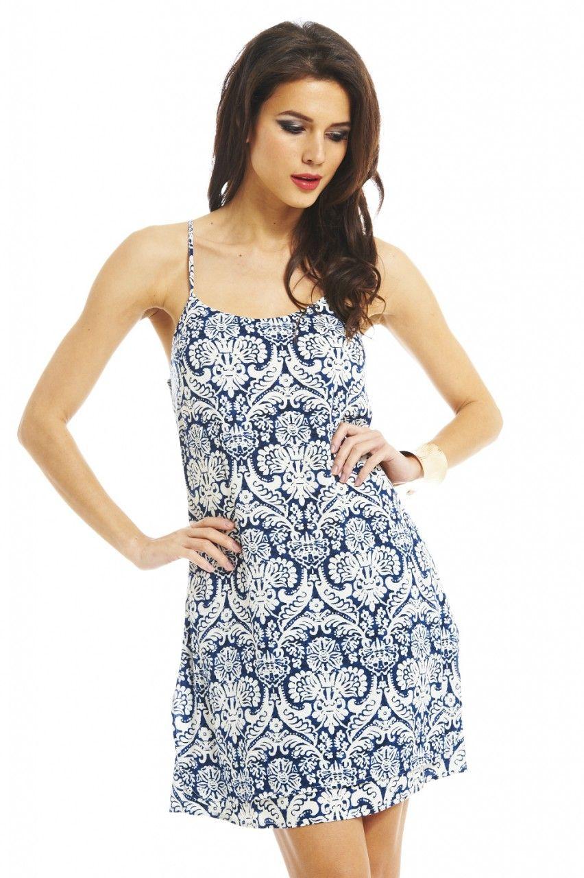 Blu Me Away Dress