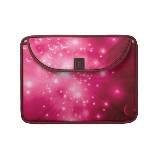 Raspberry Galaxy Burst Sleeve For MacBooks. ~This design is available on several other products.~