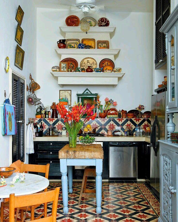 hippie hour hippie deco cocina boho designs de petite cuisine decoration cuisine style cuisine on kitchen decor hippie id=58860