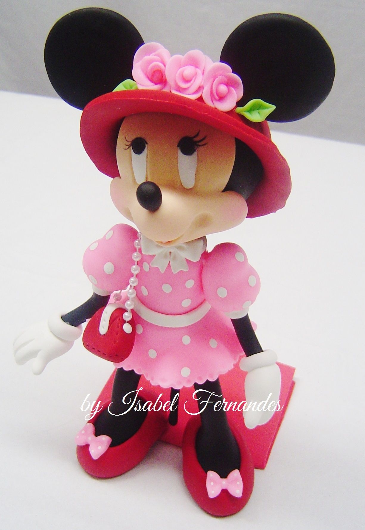 Cold Porcelain Minnie Mouse   Kids Party Favors and Sweeties ...