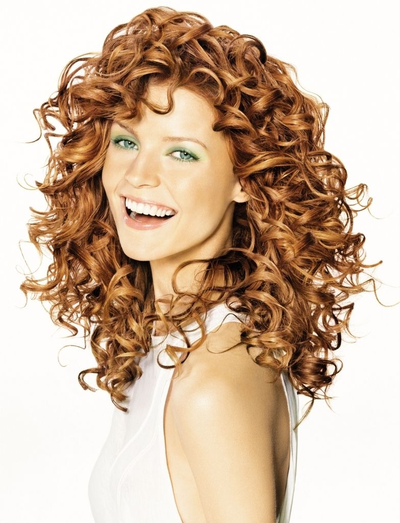 Haircuts For Long Curly Hair With Bangs Medium Curly Hair Styles