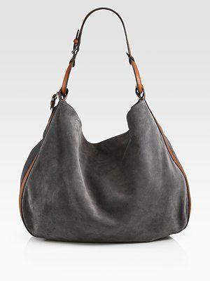 b02842e1f1bb Ralph Lauren Collection - Suede Stirrup Hobo - Saks.com ...