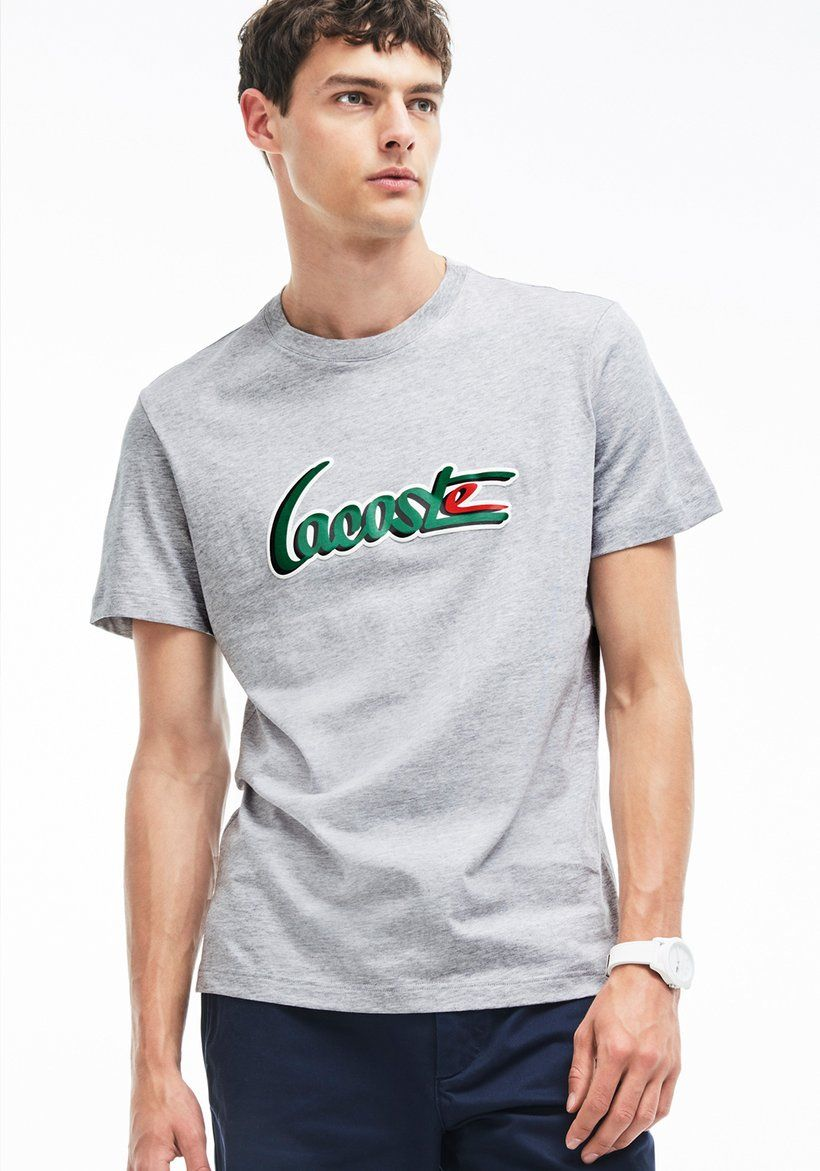 b86a43a077 LACOSTE - CREW NECK 3D T-Shirt in 2019 | Clothes | Lacoste t shirt ...