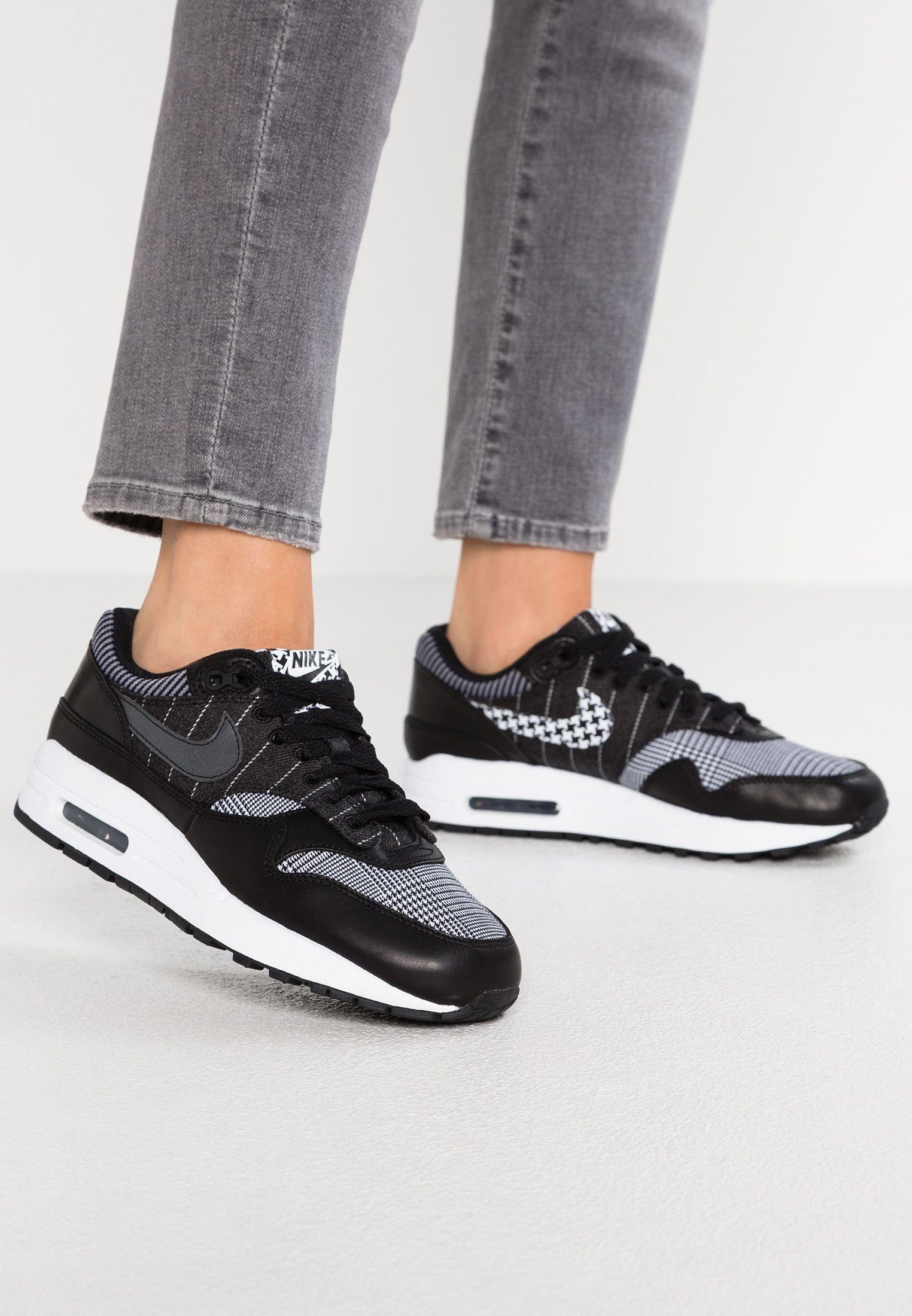 meet 76550 d43e8 Nike Sportswear AIR MAX 1 - Sneakers laag - black white - Zalando.nl