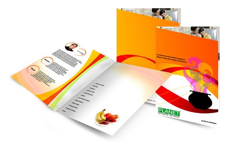 Planet Home Appliances Brochure Brochure Design Service