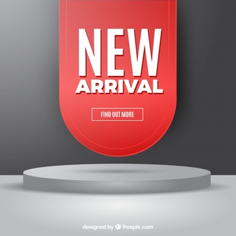 Download Modern New Arrival Composition With Realistic Design For Free Cartoons Vector Freepik Modern