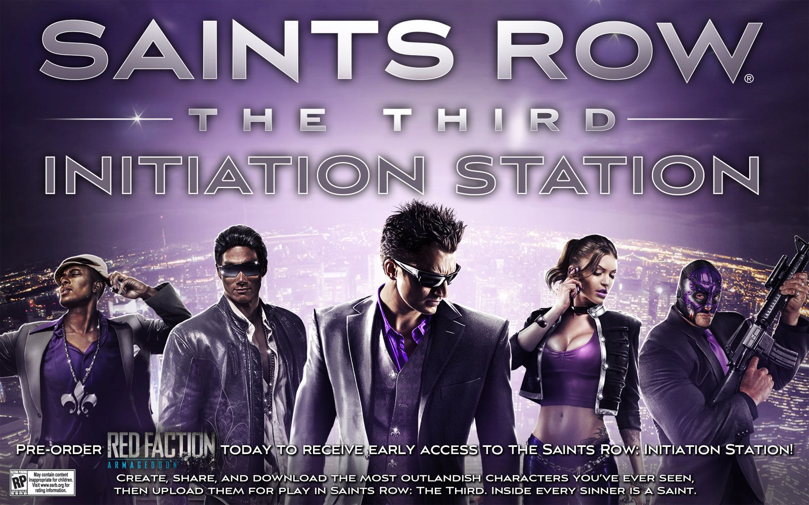 SAINTS ROW 3 PC GAMES FREE DOWNLOAD (227 MB) COMPRESSED Free