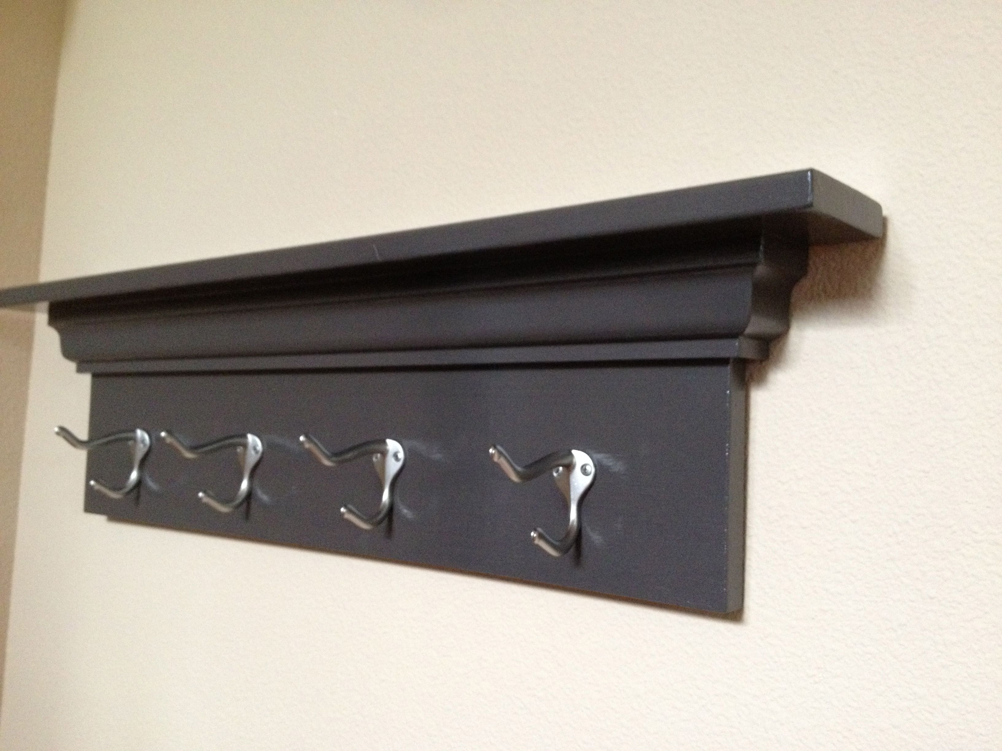 Ana White Simple Coat Rack Diy Projects Diy Coat Rack Coat Rack Wall Wooden Coat Rack