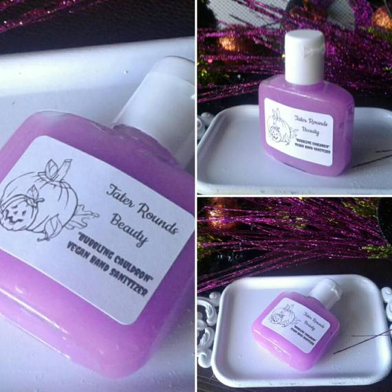 Bubbling Cauldron Vegan Hand Sanitizer Soft Hands Kill Germs