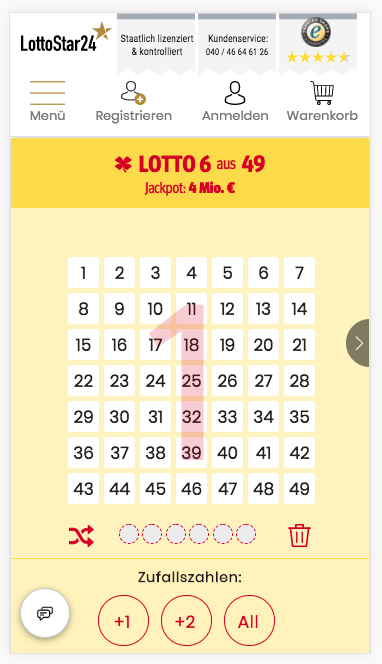 Lotto Zusatzspiele
