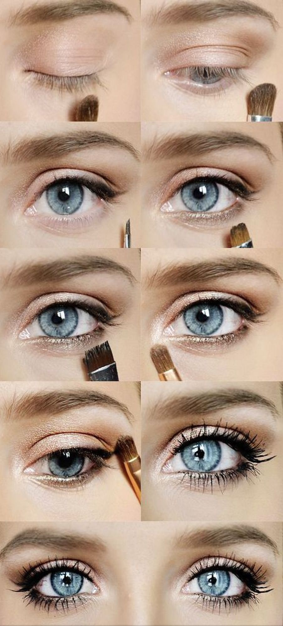 Makeup steps makeup pinterest makeup hair makeup and eye