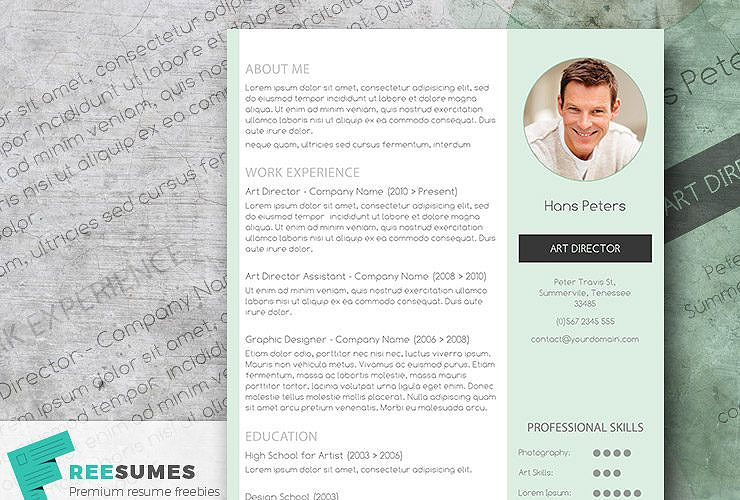 mint resume template A9 Resumes For Free Later Pinterest