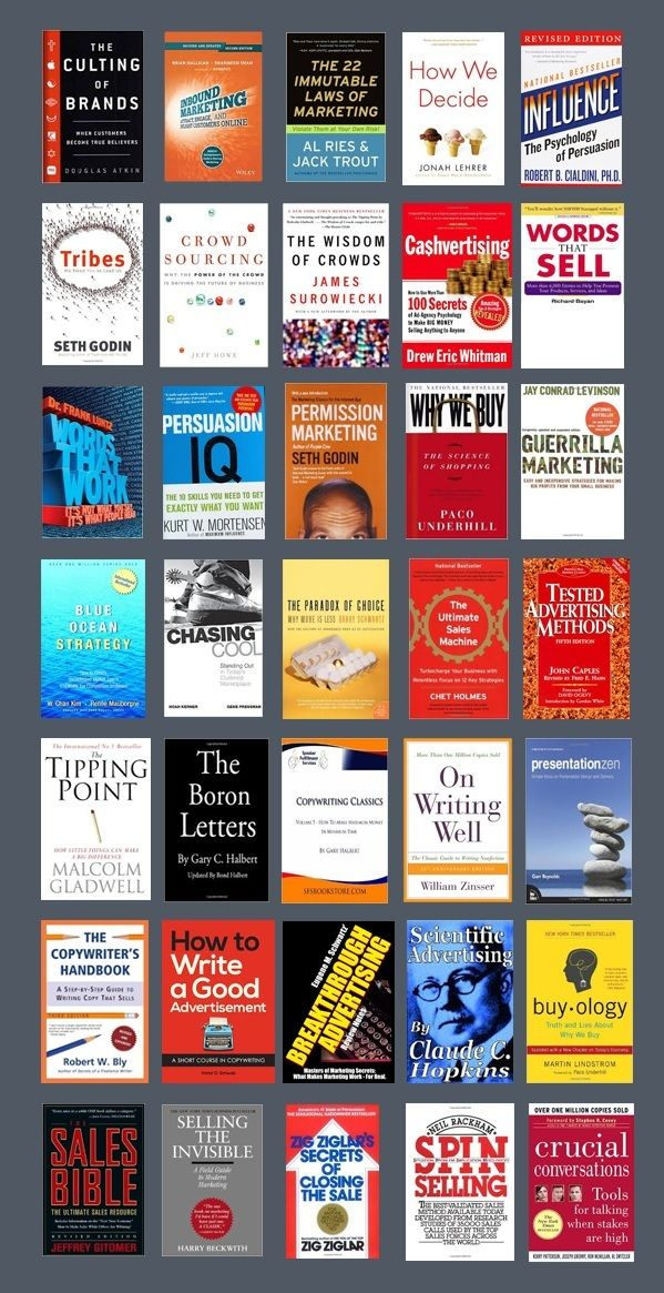 Best Sales And Marketing Books For Men