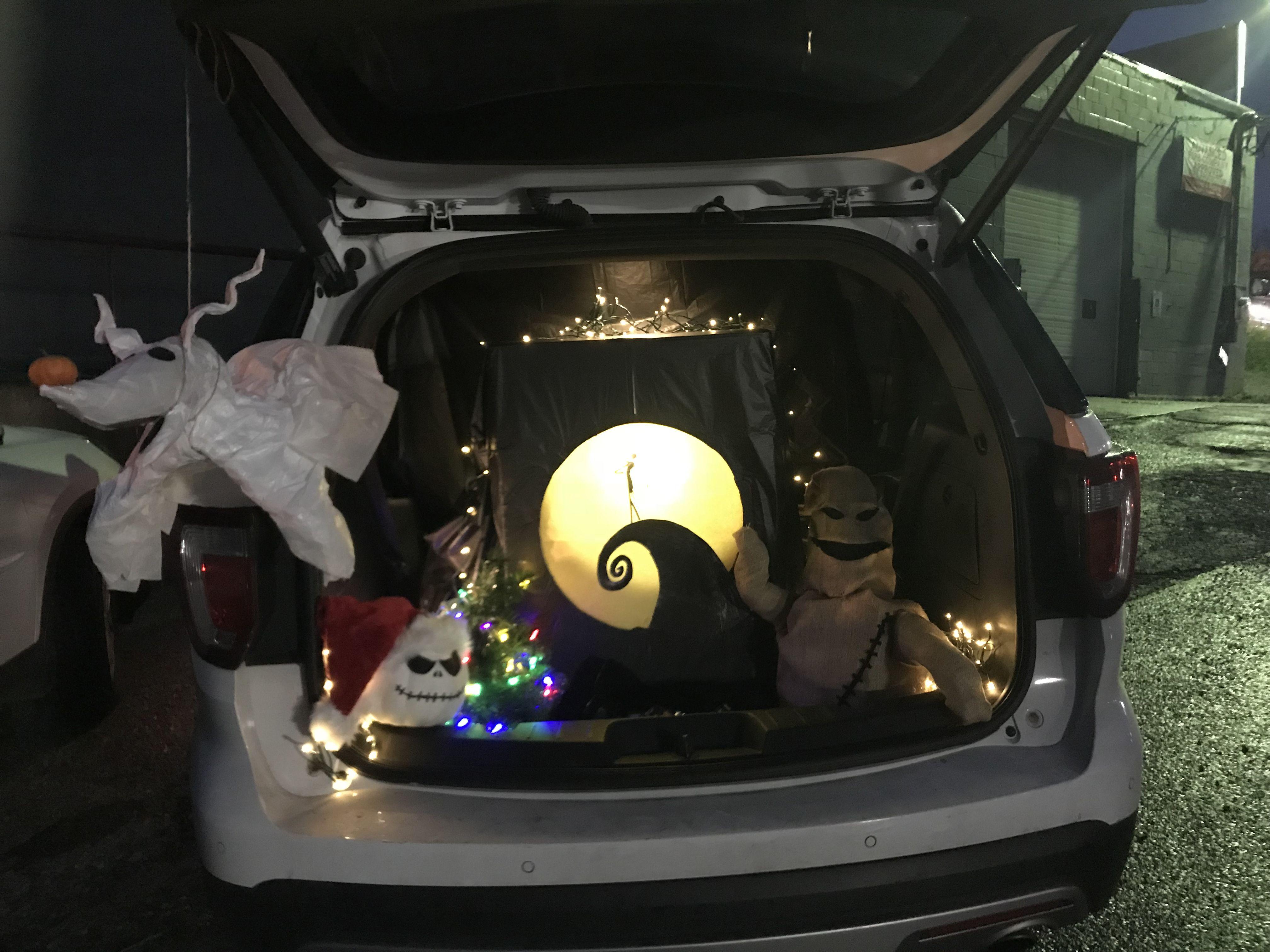 Nightmare Before Christmas Trunk-or-Treat 🎃 | Halloween in 2018 ...