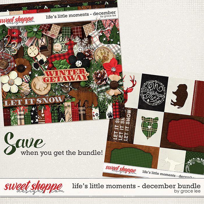 Life's Little Moments December: Bundle by Grace Lee