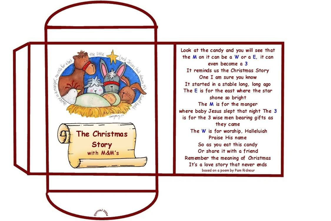 mm christmas poem printable craftsayingscom view topic poem christmas m m story
