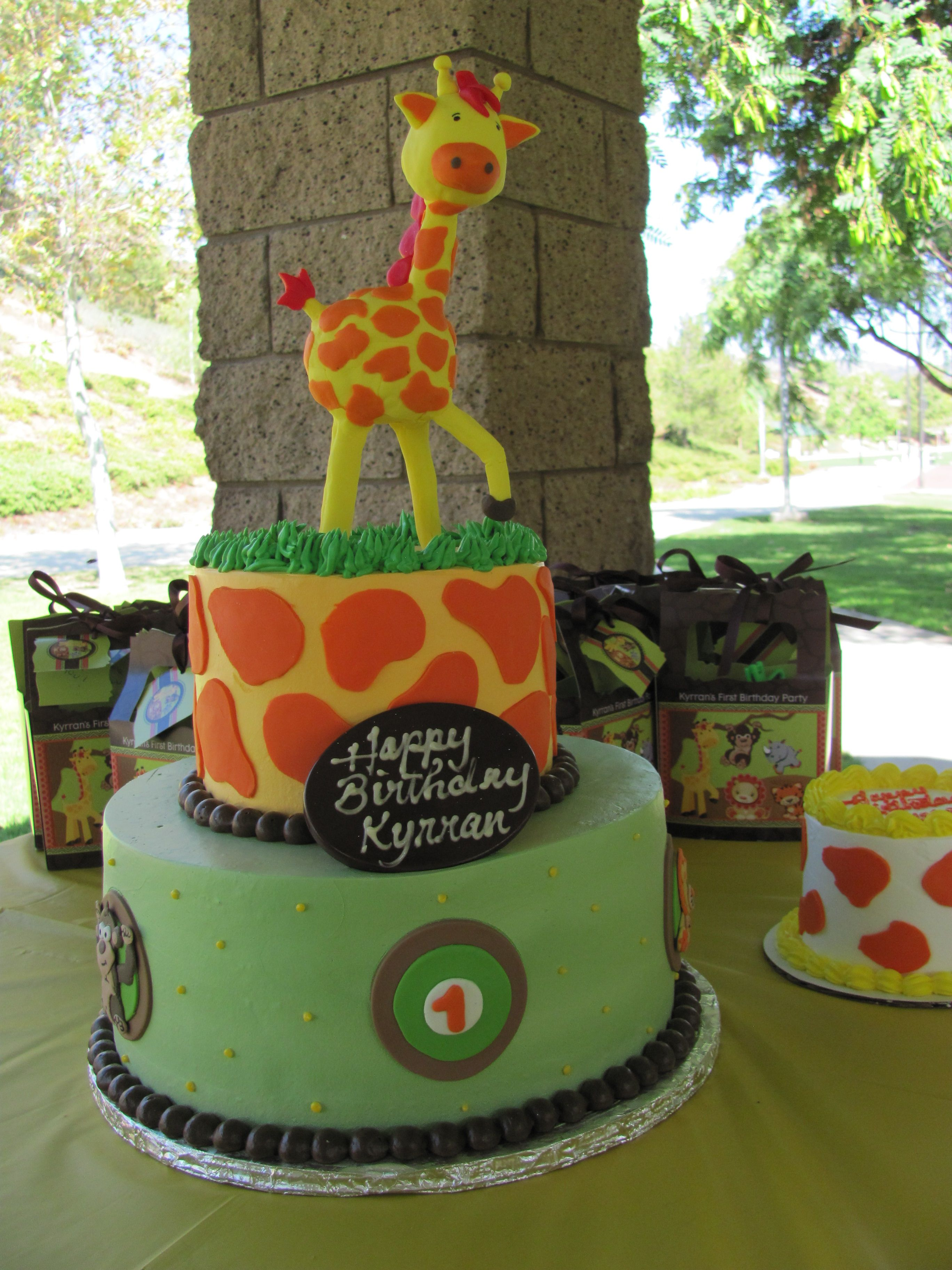 Funfari Baby Shower Cake