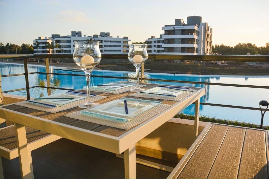 Le vista a la laguna desde los balcones de @LagoonPIlar