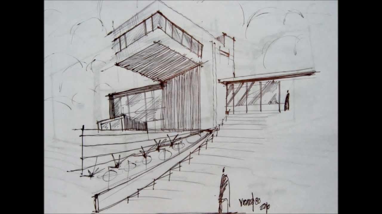bocetos arquitectonicos a mano alzada - Buscar con Google | Bocetos  arquitectónicos
