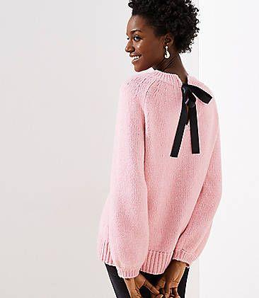 Tie Back Drapey Sweater  0d6ff2a79