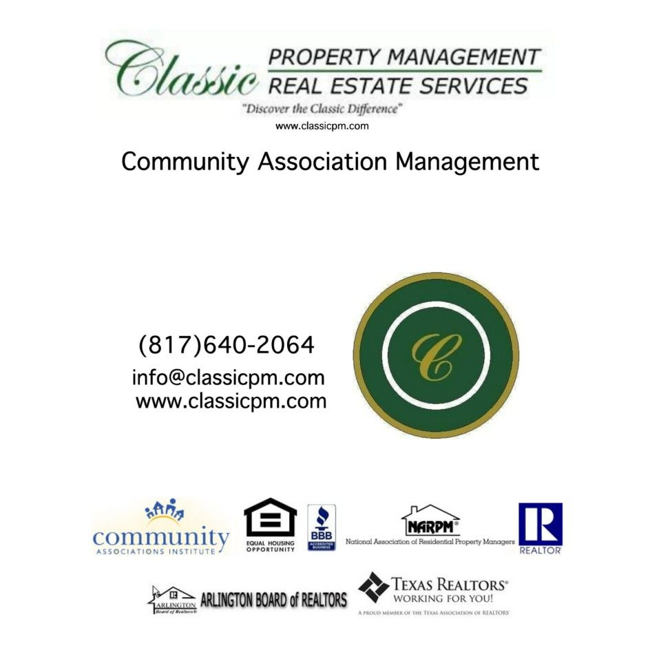 Pin By Classic Property Management Aa On Classic Property Management Aamc Classic Real Estate Services Association Management Real Estate Services Management