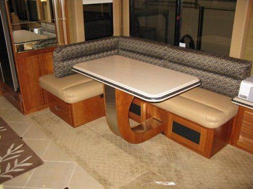 RV Mod One of a Kind RV Dinette Table RV Mods RV Guides RV