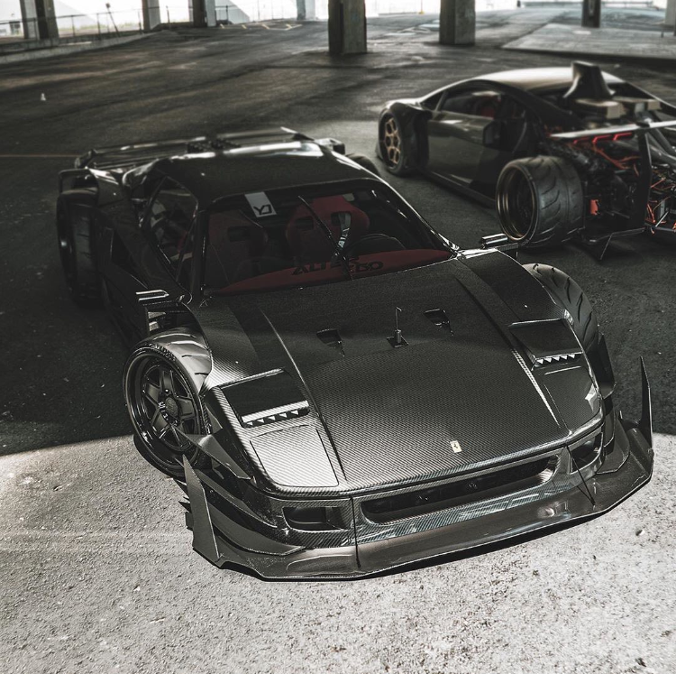 Widebody F40 Super Cars Cheap Sports Cars Old Sports Cars