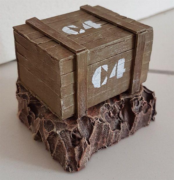caisse en bois c4 bois et polystyr ne arkomax pinterest polystyr ne caisses en bois et. Black Bedroom Furniture Sets. Home Design Ideas