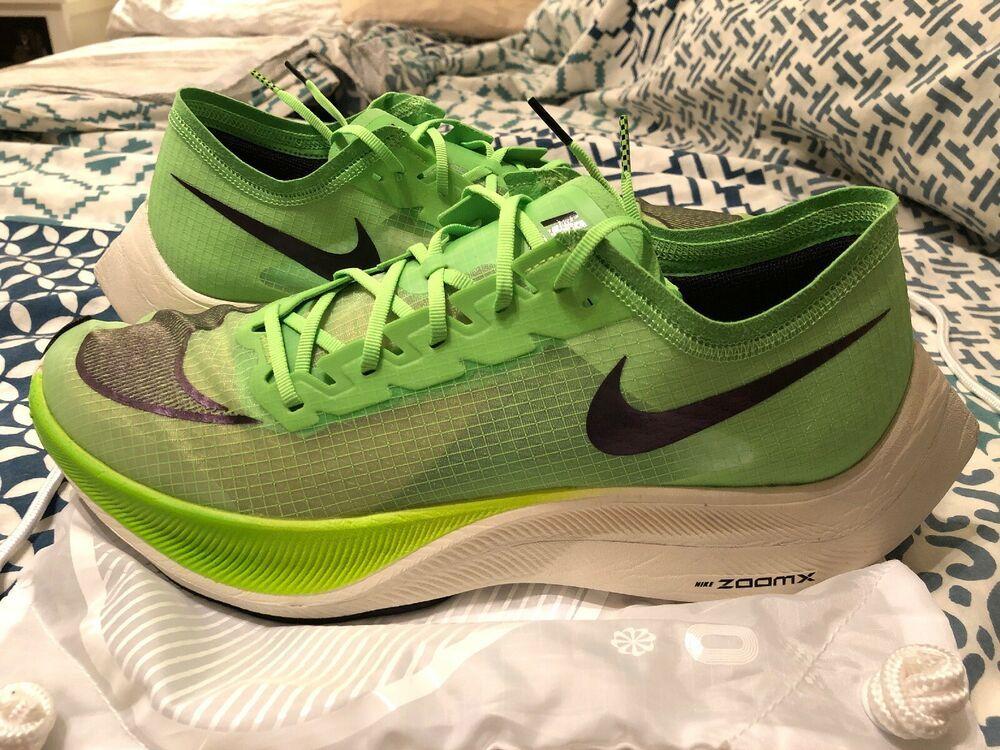 Nike ZoomX Vaporfly NEXT% Green Black