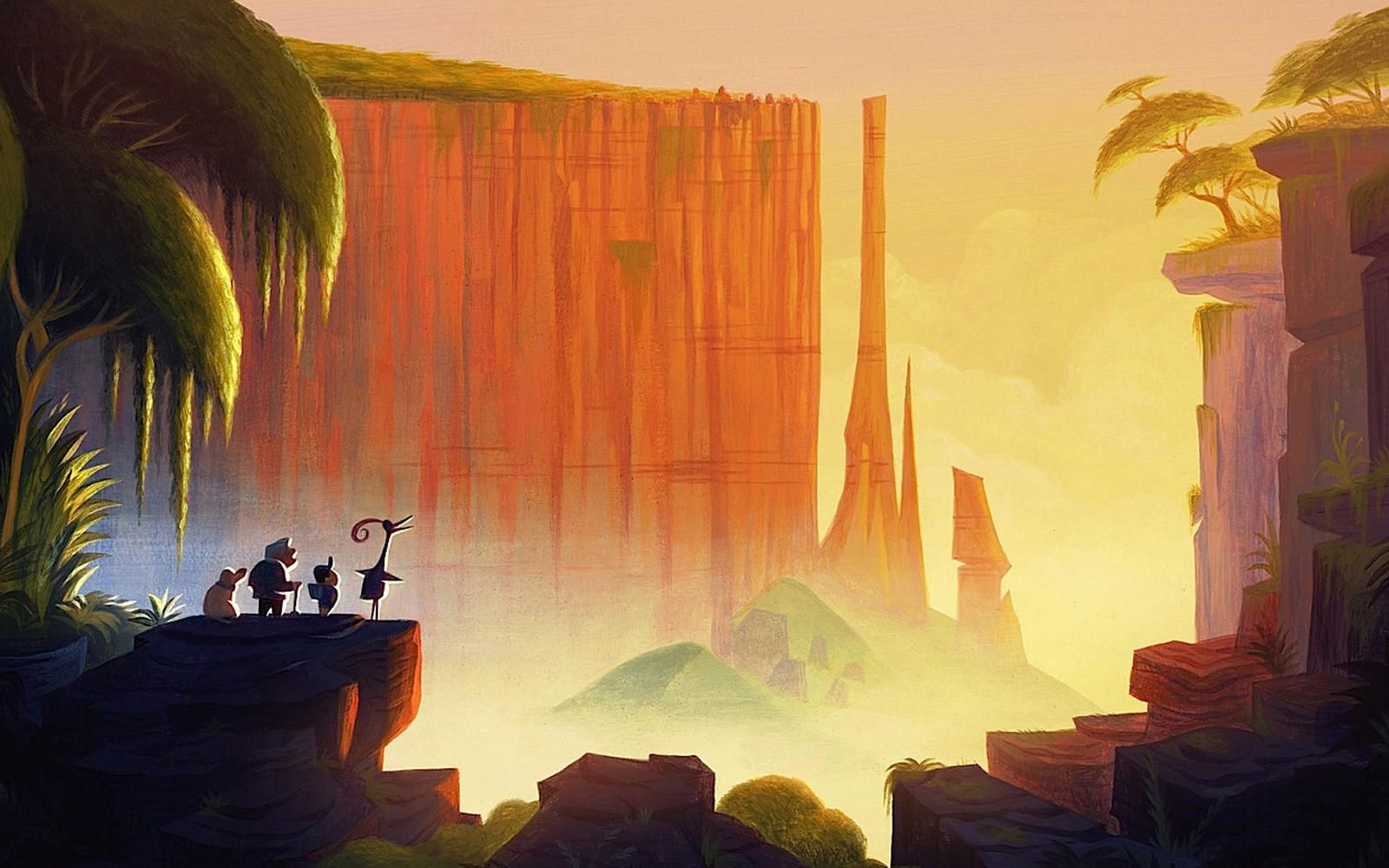 Pin By Mark Wakeham On Paysage Decor Background Environnement Pixar Concept Art Disney Concept Art Environment Concept Art
