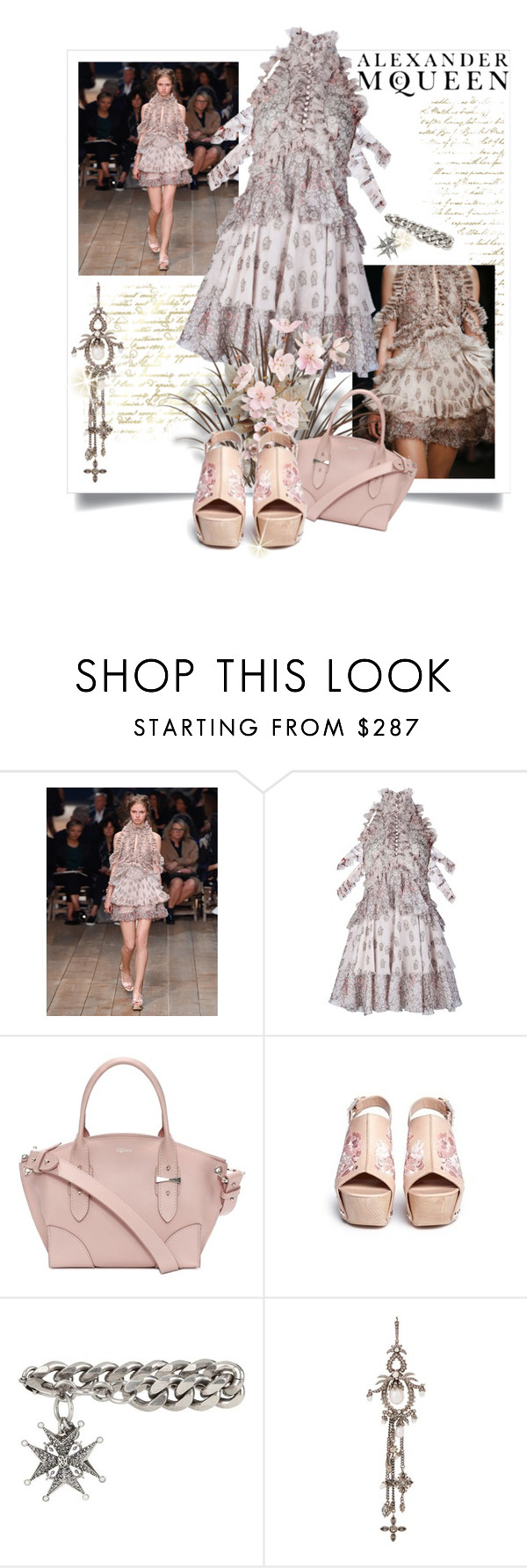 """""""The Real McQueen"""" by poshtrish ❤ liked on Polyvore featuring Alexander McQueen and AlexanderMcQueen"""