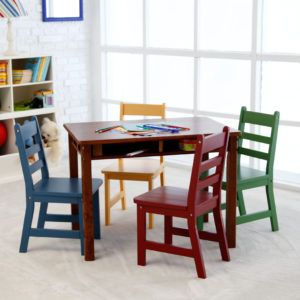 Lipper Childrens Square Table And Chair Set | http://freshslots.info ...