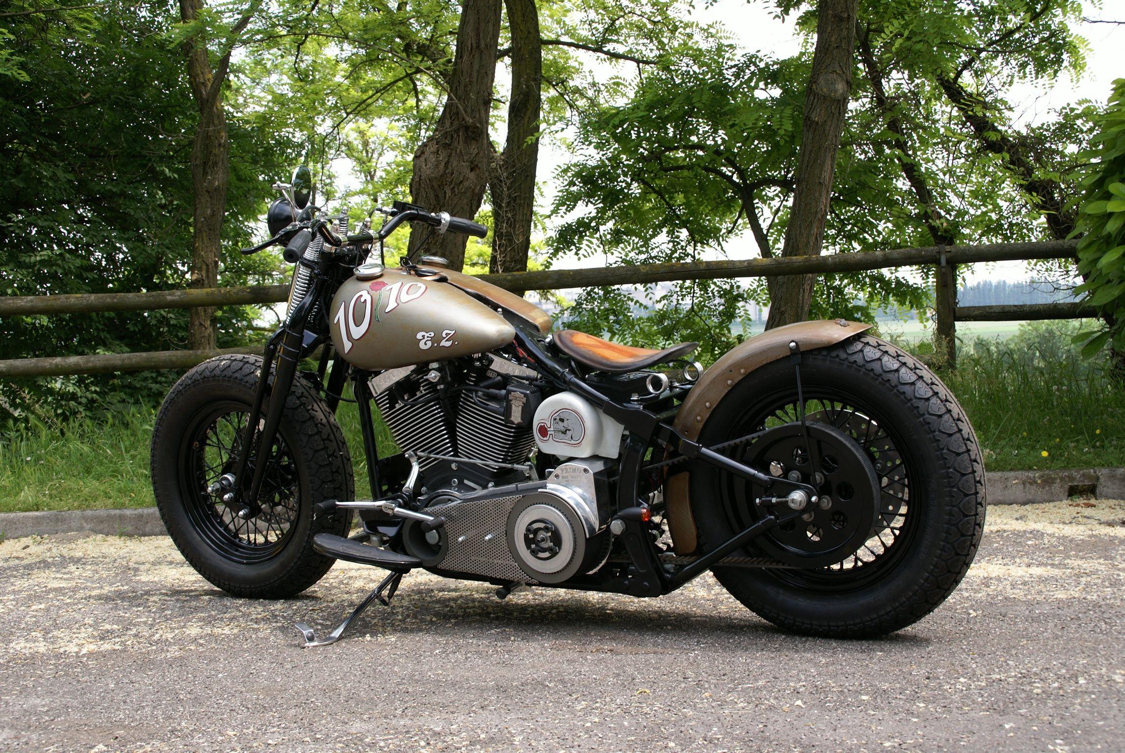 I love those stripped bikes.