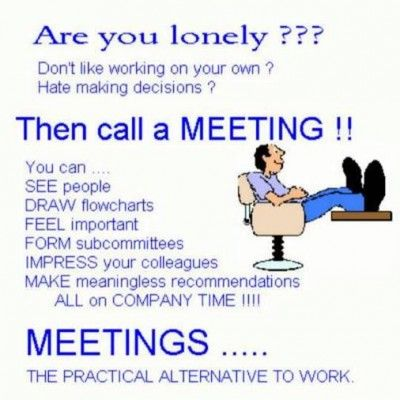 Image result for the perfect meeting humour