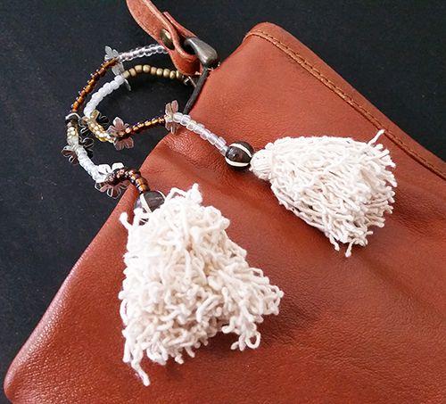 Alice Embellished Key Ring / Bag Tag